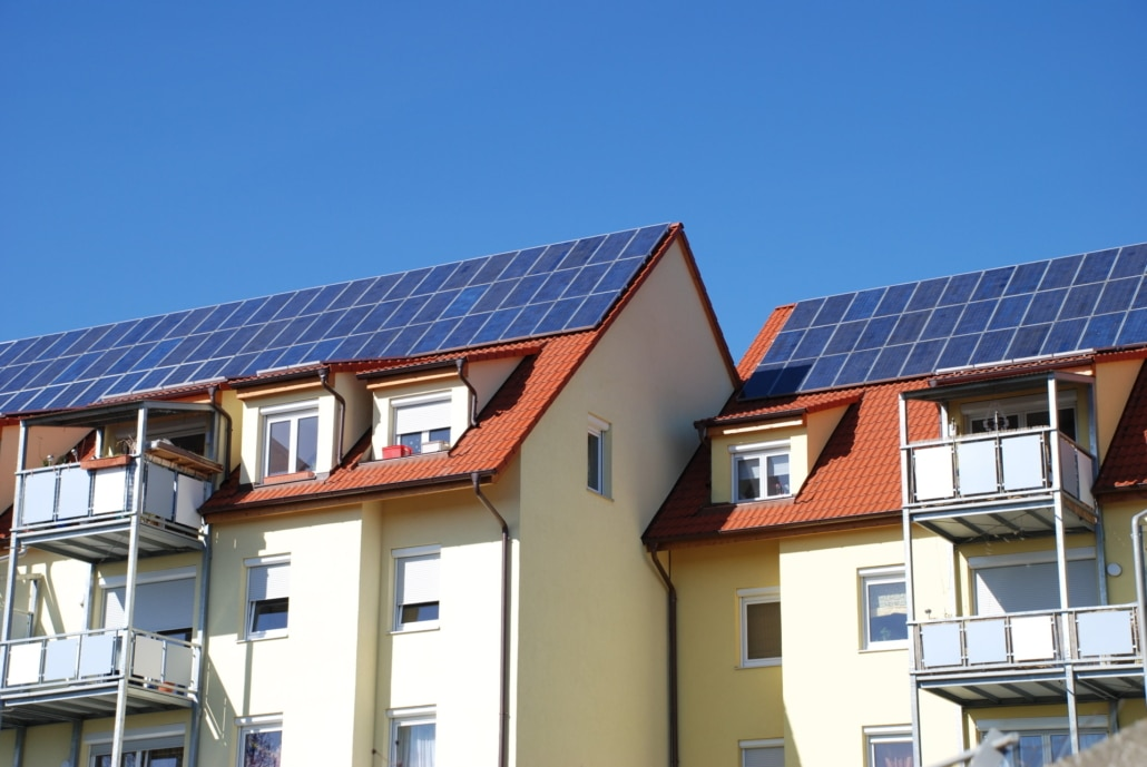 Erneuerbare Energien Balkonkraftwerke Quartierskonzept
